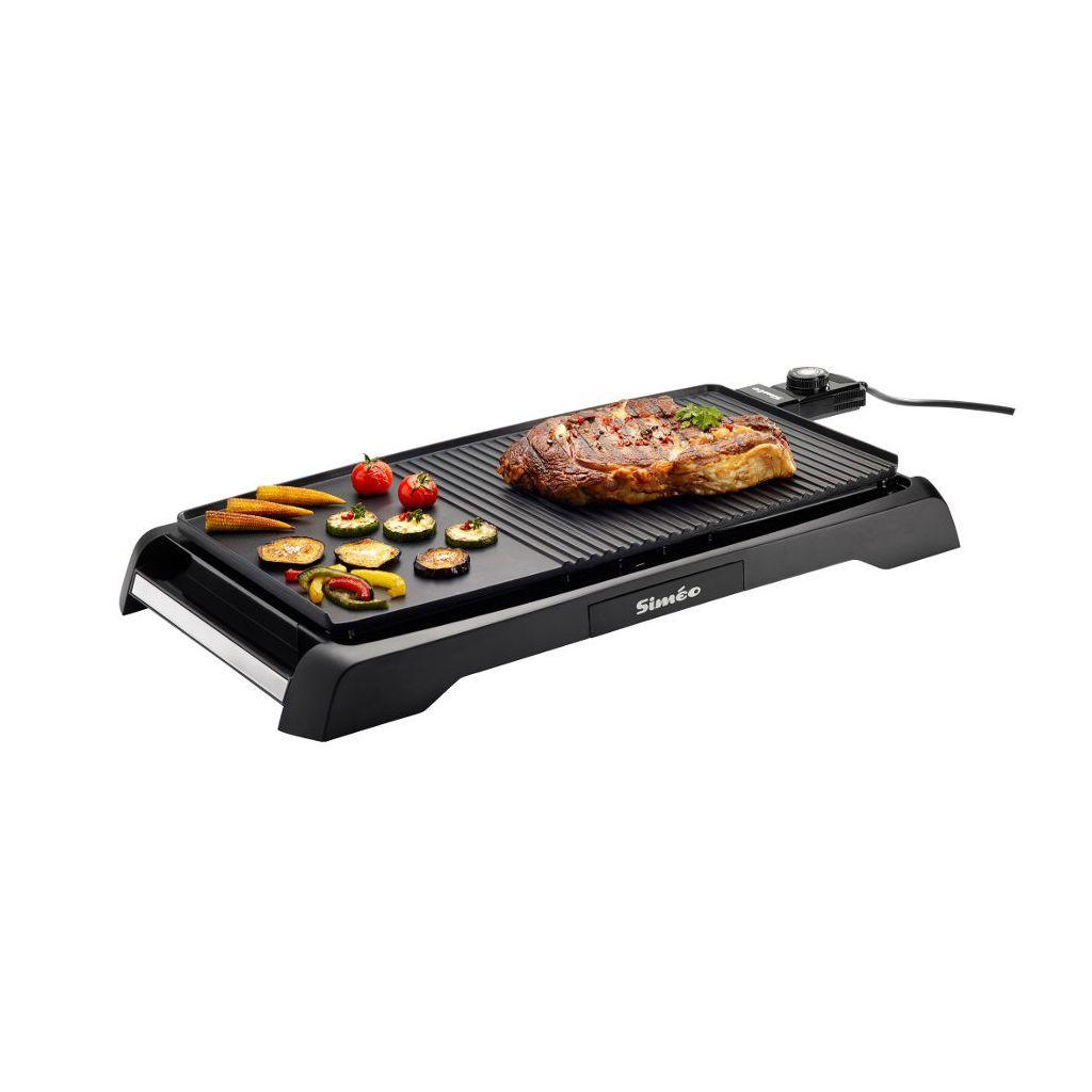 plancha grill cv320  plancha mix simeo  club electromenager